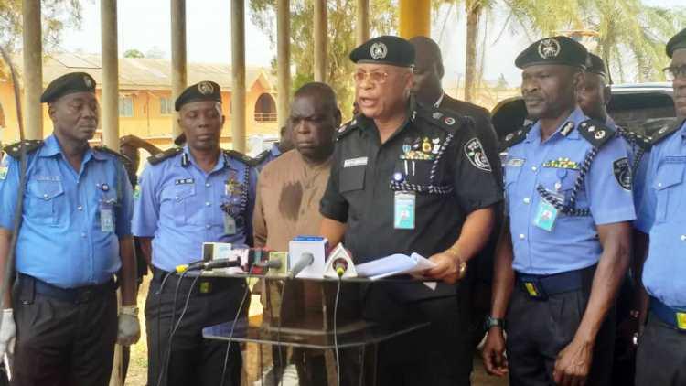 Ogun Police live cartridges