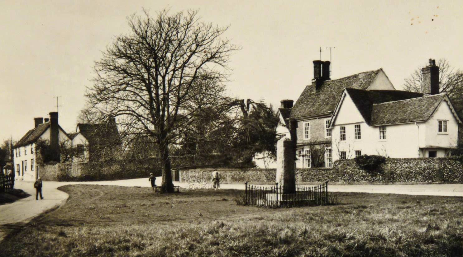 old view of ickleton