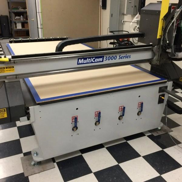 MultiCam 3000 Series Multicam Router