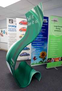 Selection of Banner Stands from ICL Imaging