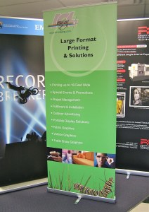 Banner Stands from ICL Imaging, Framingham, MA