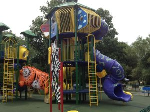 Franklin Park Zoo Playground Graphics by ICL Imaging