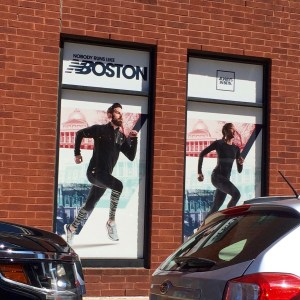 New Balance Window Graphics / Window Clings printed and Installed by ICL Imaging