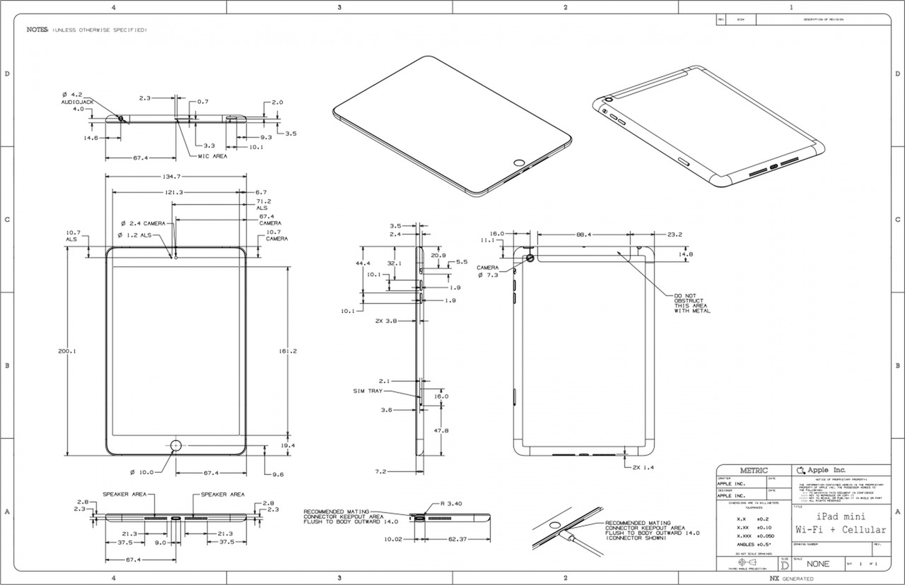 hight resolution of apple posts schematics for ipad mini ipad 4 iclarified ipod touch diagram ipad 4 circuit