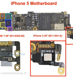 iphone 5 logic board diagram data wiring diagramnew iphone 5s component leaked photos  [ 1000 x 796 Pixel ]