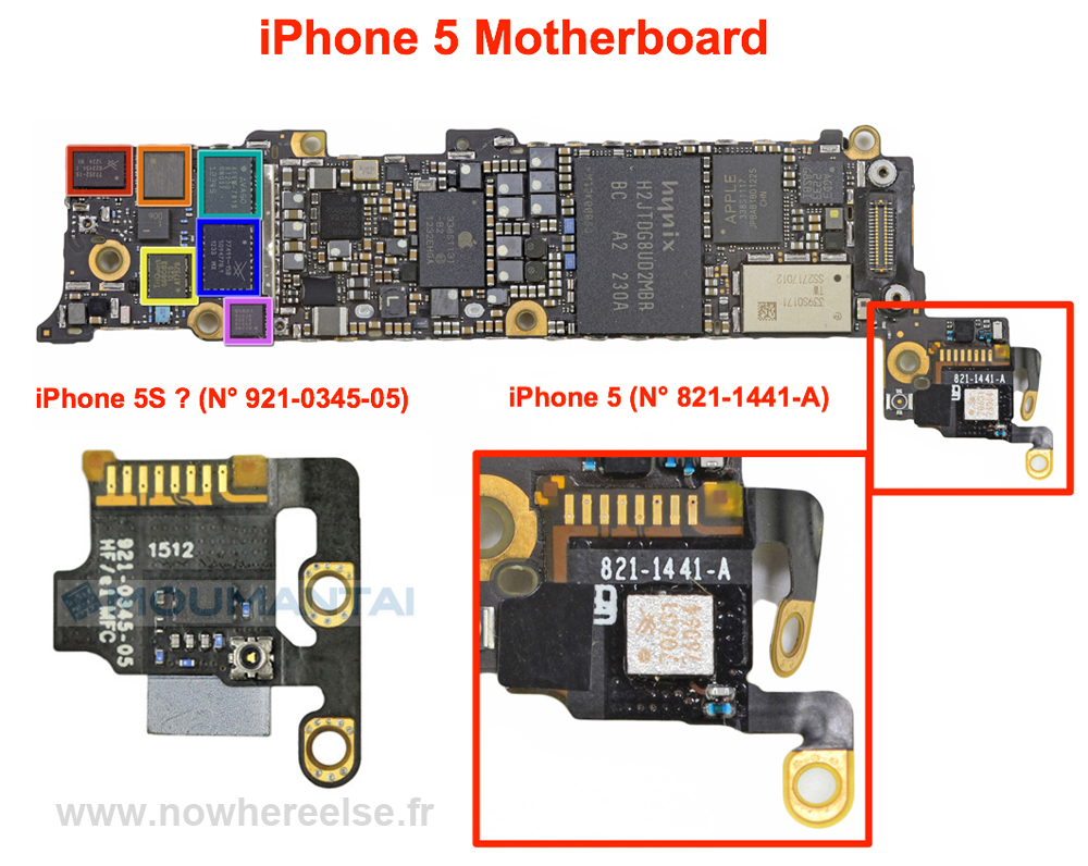 hight resolution of iphone 5 logic board diagram data wiring diagramnew iphone 5s component leaked photos