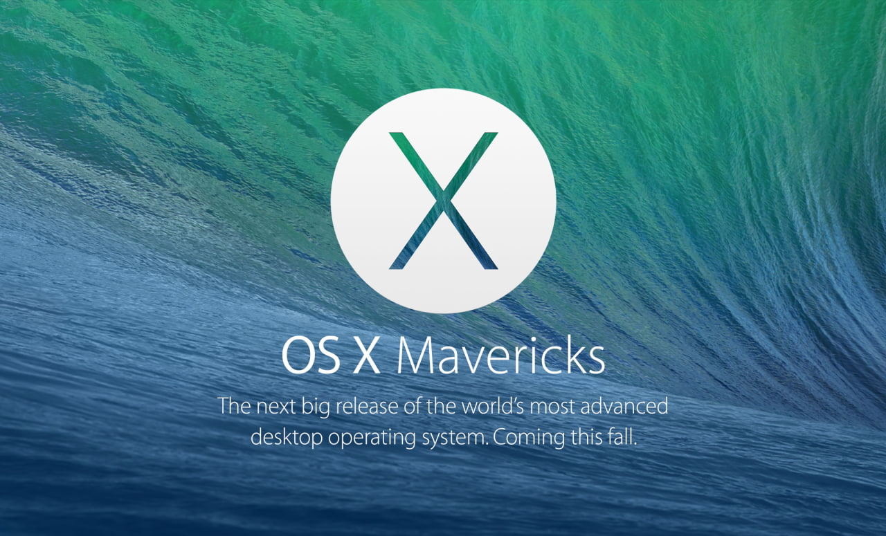 OS X Mavericks Preview 6