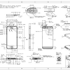 Iphone 4 Screw Layout Diagram Mercruiser Alternator Wiring Apple Posts 5s And 5c Schematics Case Design