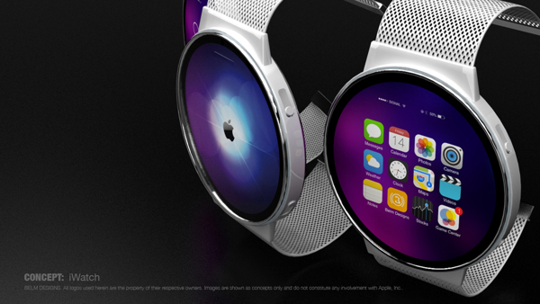 New Circular iWatch Concept With MagTwist Lock Clasp Images  iClarified