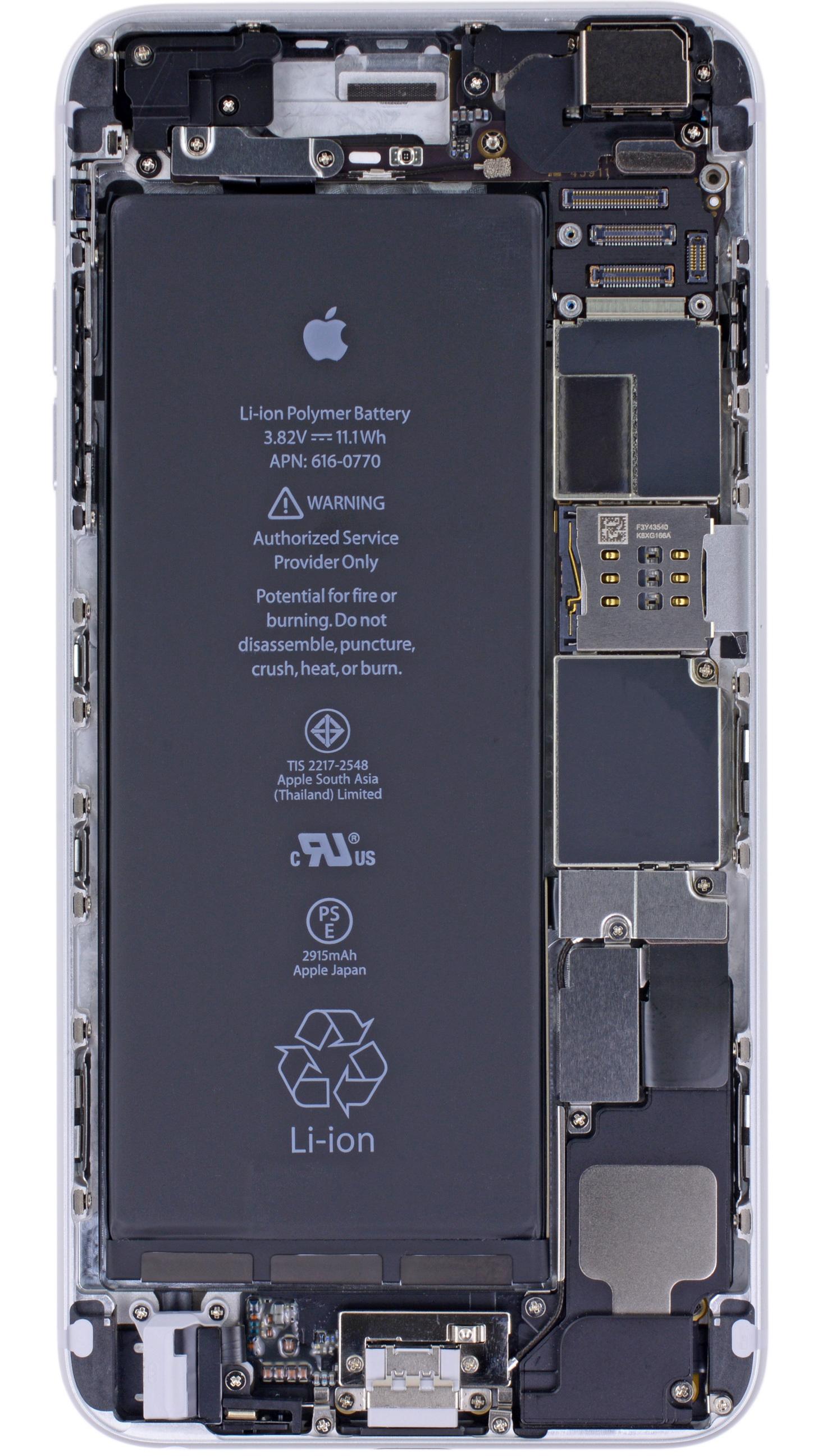 Ifixit Iphone X Teardown Wallpaper X Ray Vision Internals Wallpaper For The Iphone 6 Iphone