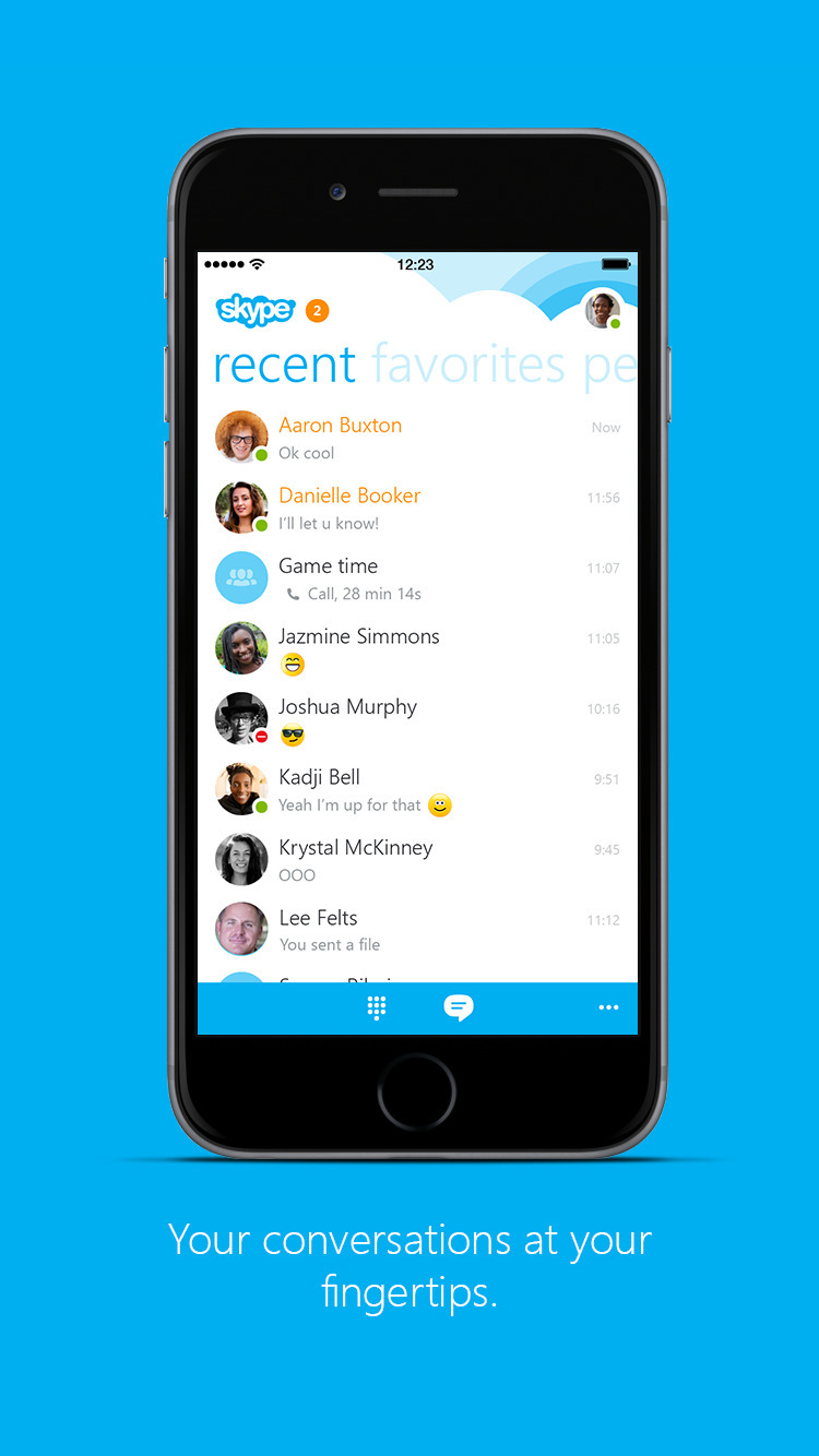 Skype App Released for Apple Watch  iClarified