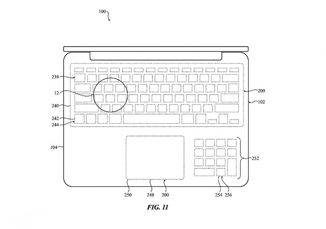 Apple Files Patent for Force Touch Keyboard Without Keys