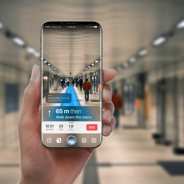 Beautiful IPhone X Concept Imagines Function Area Powered By Siri AR Images IClarified