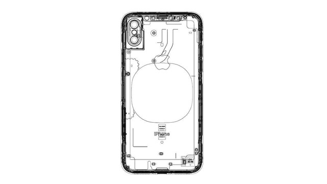 Leaked iPhone 8 Schematic With Vertical Dual-Lens Camera
