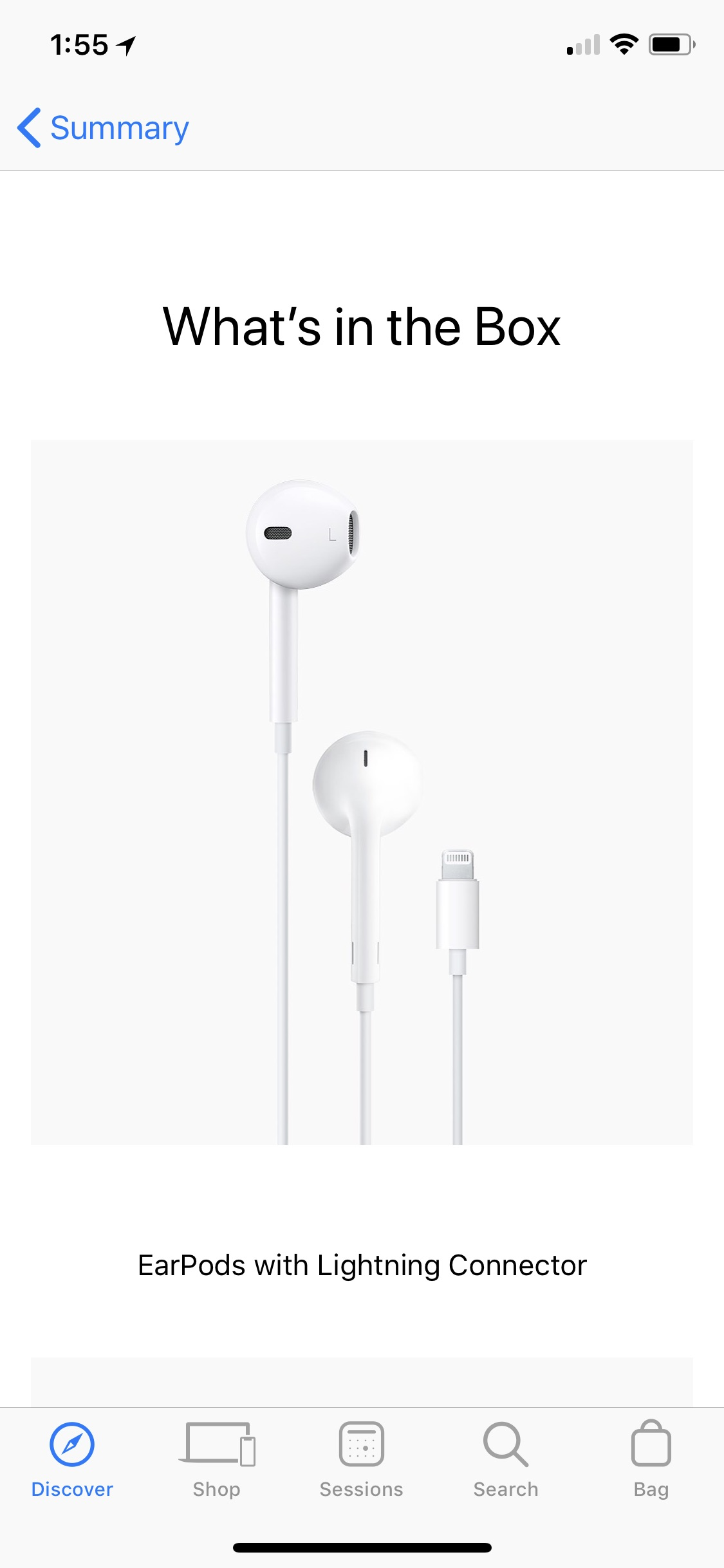 New Iphones Still Come With 5w Charger Do Not Include Lightning To 3 5mm Adapter
