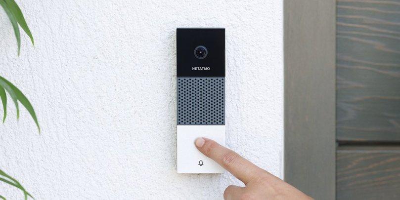 Image result for netatmo smart video doorbell