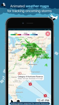 CARROT Weather App Gets Big Update With Notifications for Rain, Snow, Lightning, Storm Cells, More
