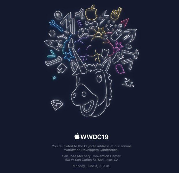 Apple Sends Out Invites for WWDC 2019 Keynote
