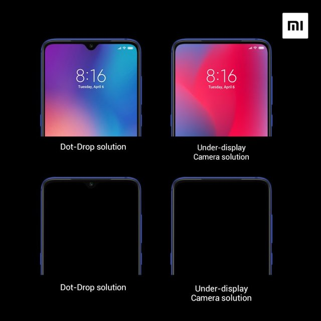 Xiaomi Teases Under-Display Camera Technology