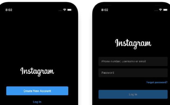 Instagram App Gets Dark Mode Support Iclarified