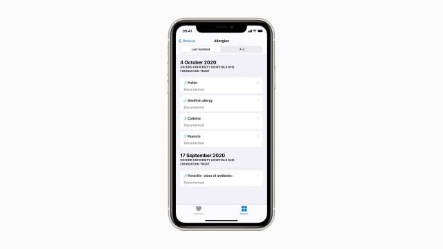 Apple Expands Health Records on iPhone to the UK and