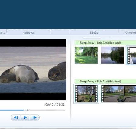 O que significa Windows Live Movie Maker