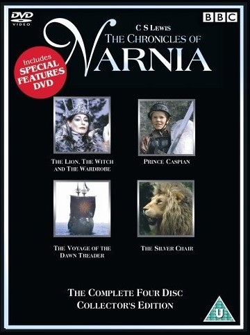 DVD  The Chronicles of Narnia  4 dvds BBC Collectors