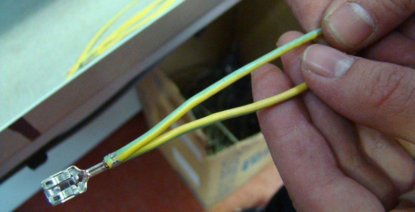 cable con soldadura ultrasónica