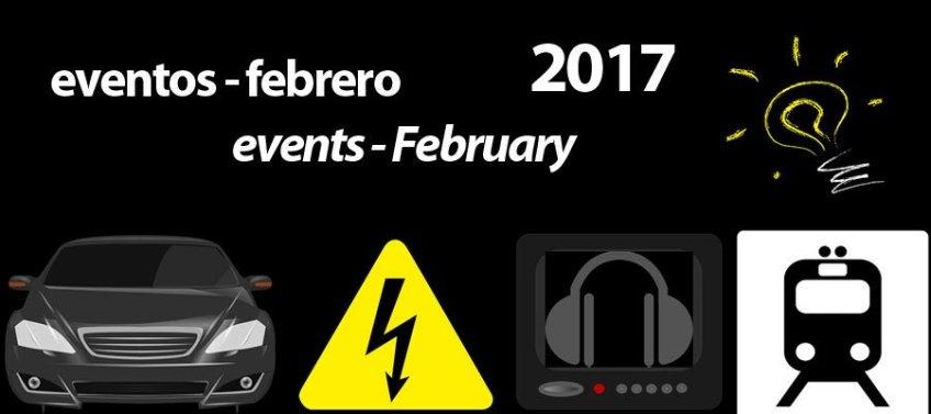Ferias de febrero 2017