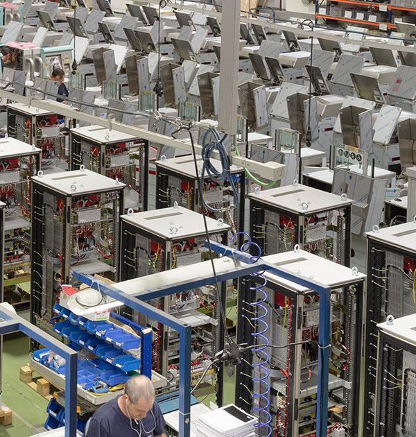 Integración de equipos electromecánicos en las instalaciones de Aranjuez de ICM