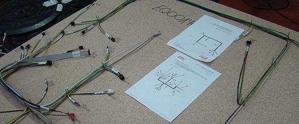 Tablero para la fabricación de cableado industrial a medida en ICM
