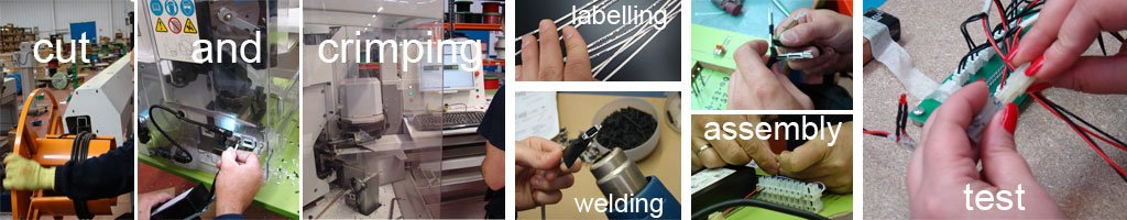 Wire harness manufacturing process in ICM