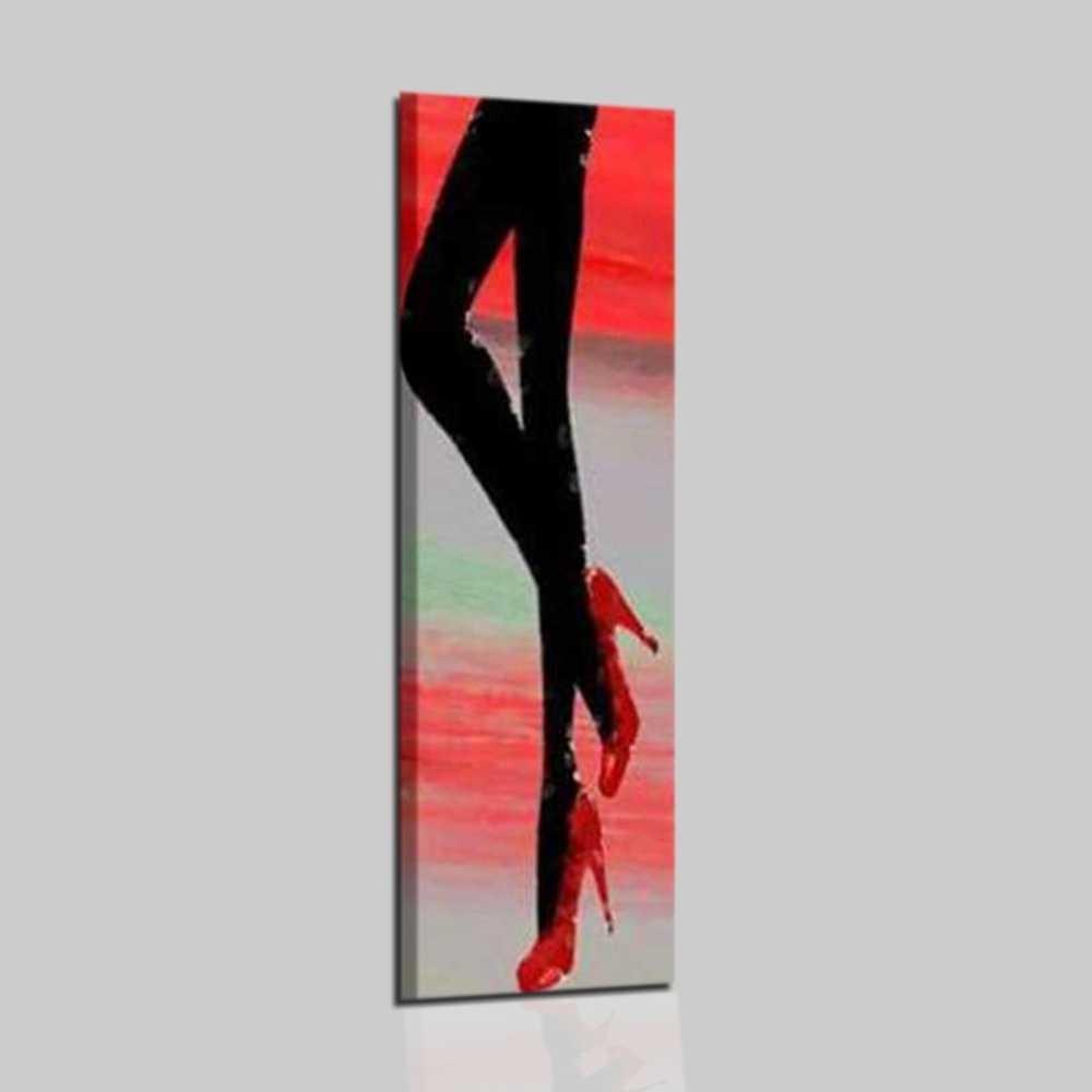 Quadri astratti verticali gambe di donna  Ada