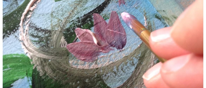 Come dipingere le ninfee di Monettutorial  I colori di Laura