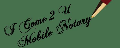 Mobile Notary, Rancho Cucamonga