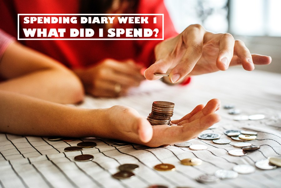Spending Diary Week 1: What Did I Spend?