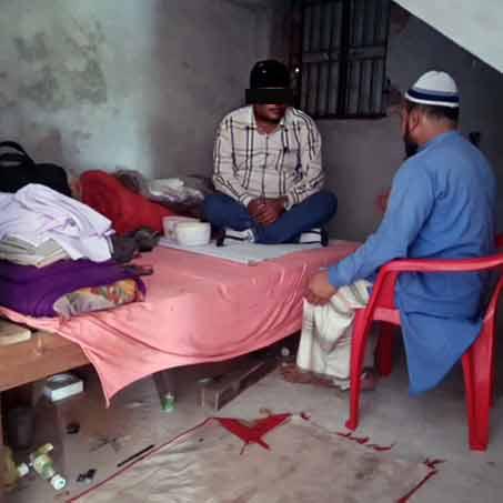 Imam Fedu heard the gospel from a Christian worker.