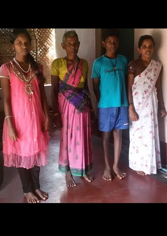 Manjula and her two children now live with her mother.