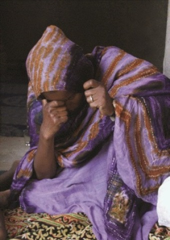A North African woman persecuted for her faith