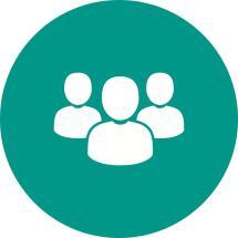Clients Flat Icon - Iconbunny