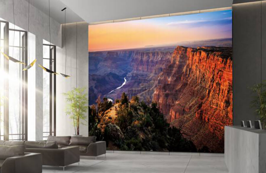 The Wall Samsung S Giant Tv Available In 4 Differents Sizes Icon Connect