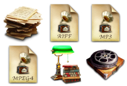 antique icons pack free