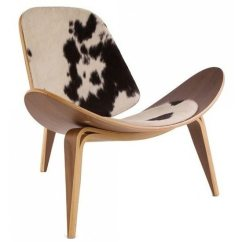 Cowhide Chairs Nz High Chair Ikea Reproduction Shell Style Iconic Design Art Objects Hans J Wegner