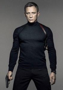Daniel Craig James Bond Mock Turtleneck Sweater
