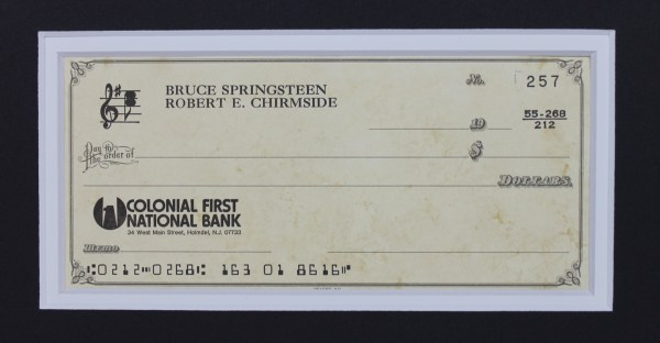 Display Personal Check
