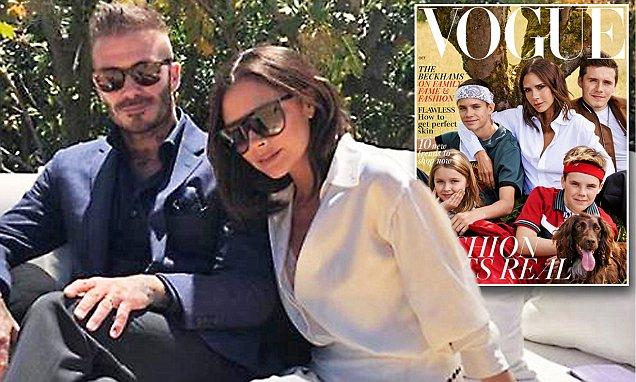 Victoria Beckham Covers British Vogue WITHOUT DAVID BECKHAM image