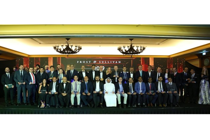 Best Practices, Innovation and Leadership Recognized at Frost & Sullivan's 2019 Middle East Best Practices Awards Banquet