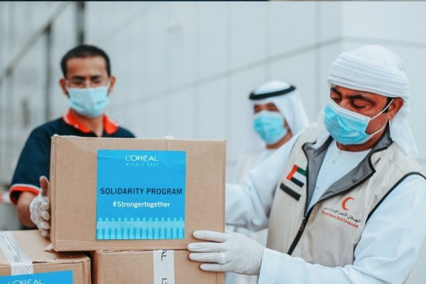 L'ORÉAL MIDDLE EAST LAUNCHES UAE SOLIDARITY PROGRAMME