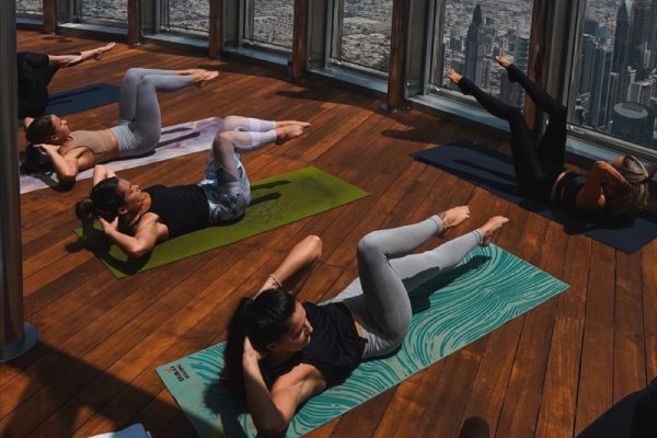 Yoga at the top of the world! This summer