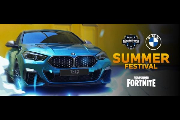 BMW Group Middle East launches Summer Festival featuring Fortnite Gamers